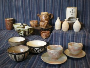 向陽の里の陶芸品